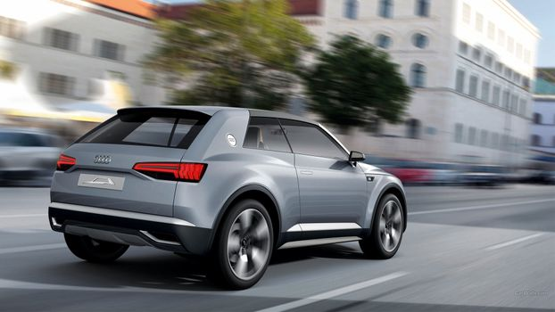 Photo free Audi Crossline, car Brand, land transport