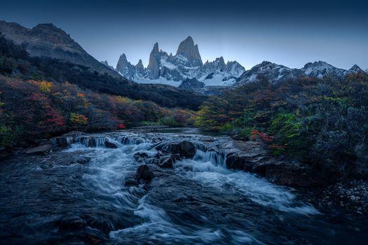 Фото бесплатно Патагония, Аргентина, река