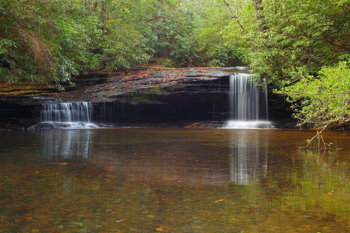 Водопад в джунглях · бесплатное фото