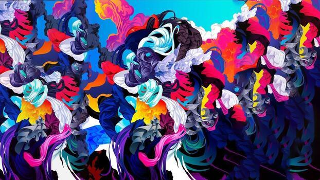 Photo free smeshivanie, colorful, pattern
