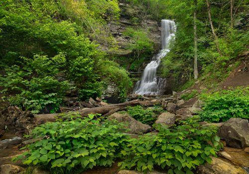 Photo free parks waterfalls, rocks waterfalls, parks