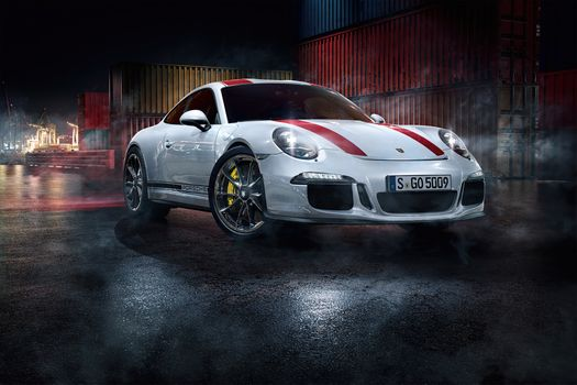 Фото бесплатно Porsche, автомобили, Behance
