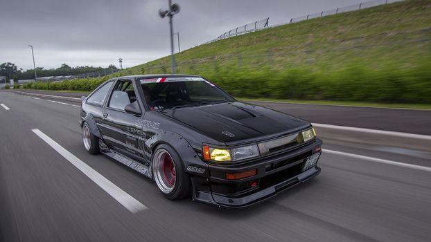 Photo free toyota ae86, japanese cars, cars