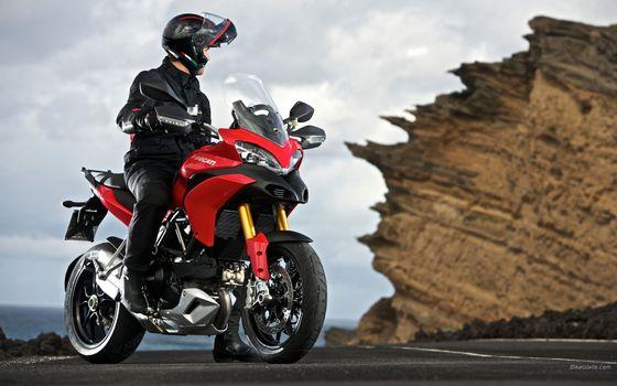 Фото бесплатно Ducati, красный, мотоцикл