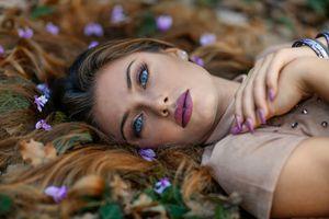 Photo free face, model, portrait