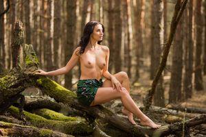 Фото бесплатно Jasmine Jazz, красотка, голая