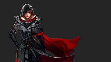 Бесплатные фото Assassin 039 Creed Syndicate,Assassin 039 Creed,видеоигры,Evie Frye,простой фон,женщины,смотрит на зрителя