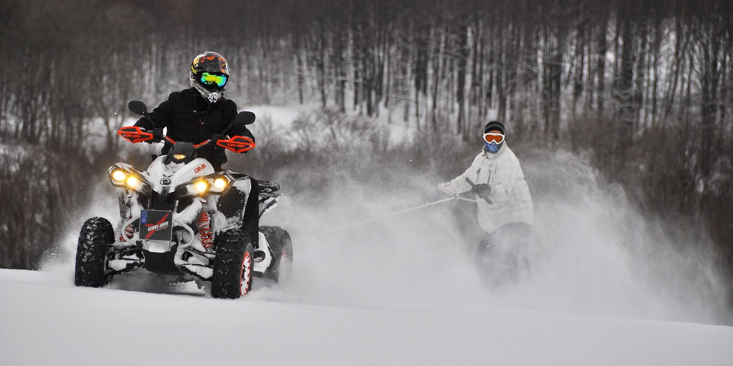 Free photo atv, four, schnee - to desktop