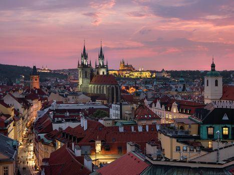 Скачать прага, чехия, чешская республика бесплатные обои