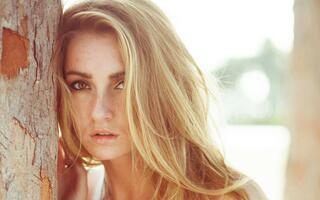 Фото бесплатно блондинка, женщина, кожа