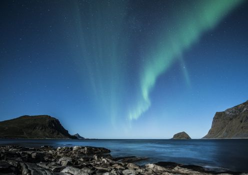 Photo free aurora, landscapes, beach