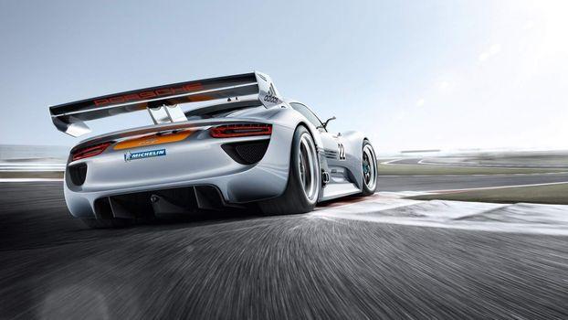 Фото бесплатно Porsche, автомобили, Porsche Spyder