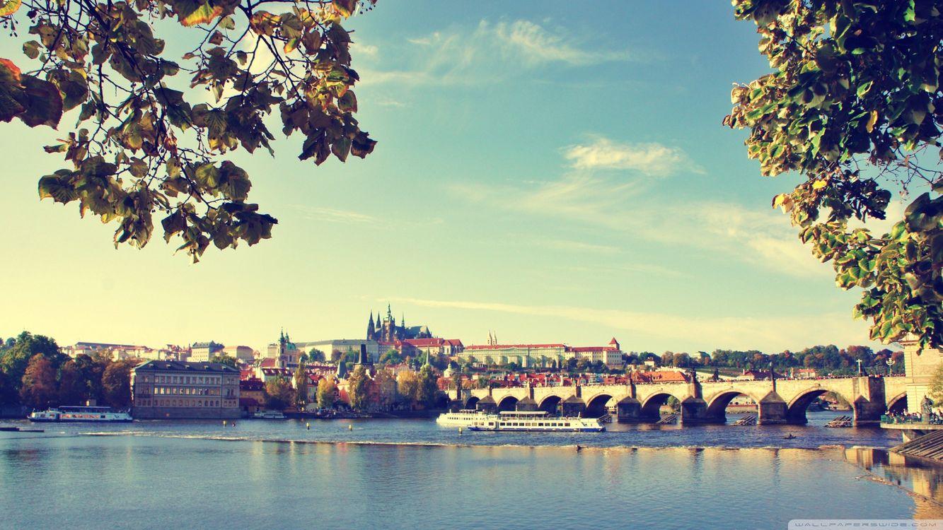 Фото бесплатно Прага, Чехия, замок, город