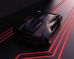 Фото бесплатно художник, автомобили, абстракция
