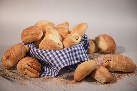 Фото бесплатно еда, круассан, булочки