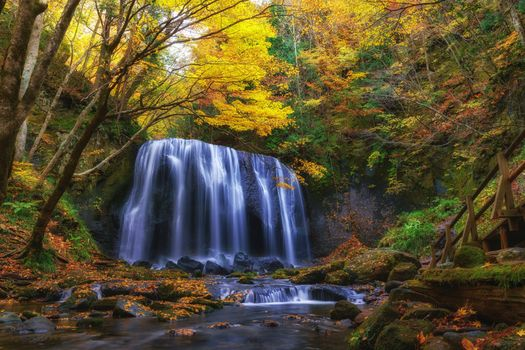 Photo free Tatsuzawa Fudo Falls, Fukushima, Japan