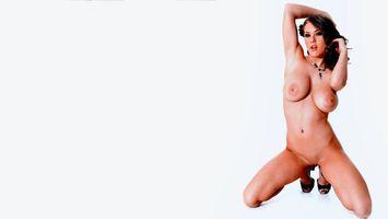 Бесплатные фото альт-бейли,обнаженная,пол,киска,сиськи,большие сиськи,бритая киска