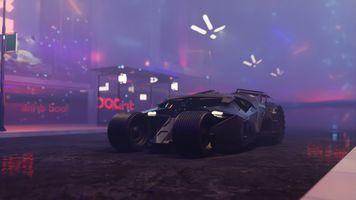 Фото бесплатно Batmobile, супергерои, автомобили