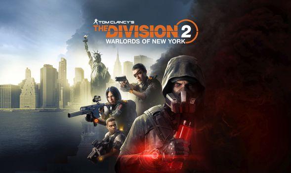 Заставки игры 2020 года, игры, Tom Clancys The Division 2