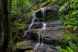 Заставки Middle Katoomba Falls, Katoomba, Blue Mountains National Park