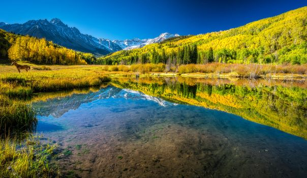 Photo free San Juan Mountains, landscape, lake