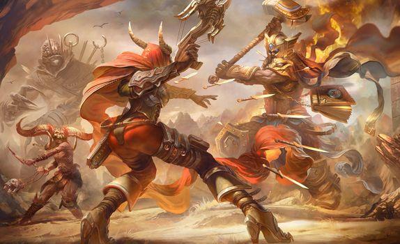 Заставки Heroes Of The Storm, 2018 Games, игра