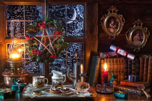 Праздничный стол на рождество христово