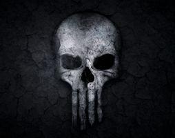 Photo free The Punisher, artwork, digital art