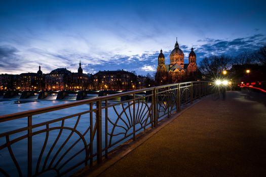 Фото бесплатно Мюнхен, Германия, Церковь Святого Луки