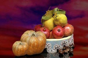 Заставки овощи,фрукты,тыква,гранат,груша,еда,натюрморт