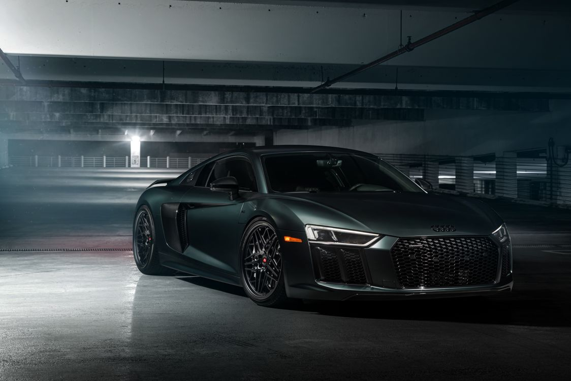 Photo cars 2018 cars Audi R8 - free pictures on Fonwall