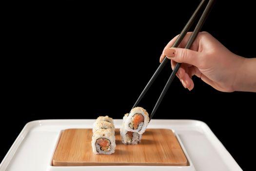 Фото бесплатно еда, маникюр, суши