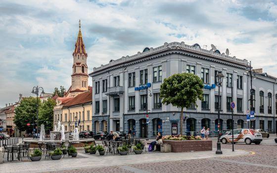 Фото бесплатно города, церковь, Литва