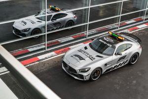 Photo free Mercedes AMG GTR, 2018 cars, cars