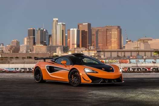 Photo free automobile, Mclaren, orange