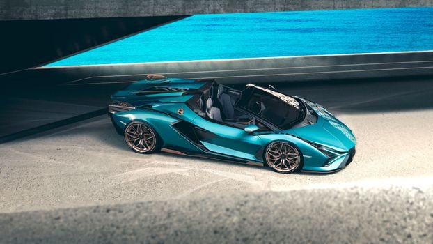 Фото бесплатно автомобили, автомобили 2020 года, Lamborghini