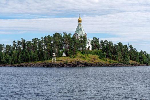 Фото бесплатно Ладожское озеро, Валаам, Скит во имя святителя Николая Чудотворца