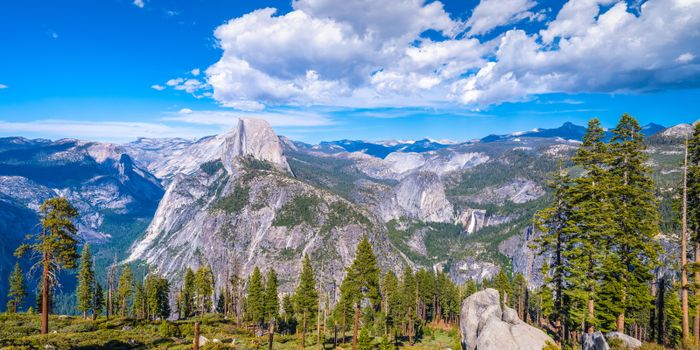 Photo free mountains clouds, reserve, parks usa