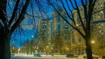 Фото бесплатно Kosmonavtov prospect, St Petersburg