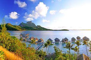Фото бесплатно Бора-бора, тропики, море