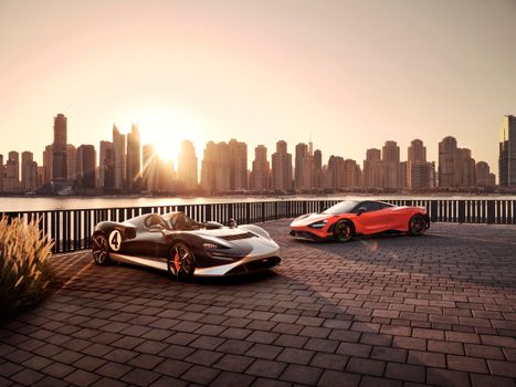 Photo free auto, Mclaren, roadster