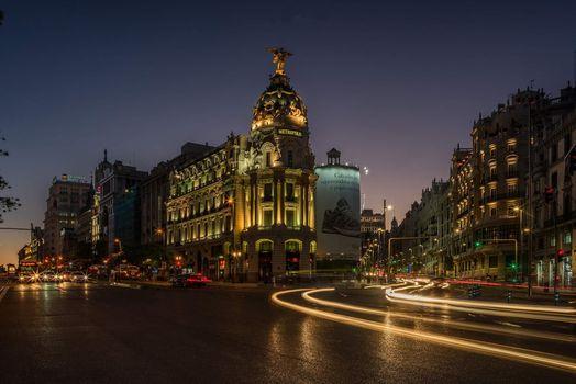 Photo free cars, city, night