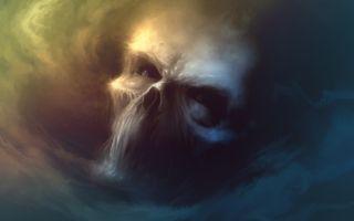 Фото бесплатно искусство фантазии, произведение искусства, череп