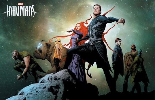 Фото бесплатно Inhumans, Tv Shows, Poster