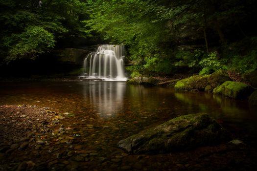 Photo free rocks, waterfall, water