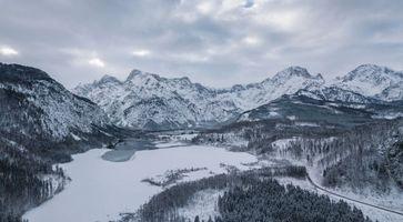Фото бесплатно Альмзе, австрия, горы