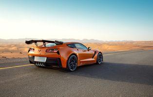 Фото бесплатно Chevrolet, Corvette, автомобили 2019 года