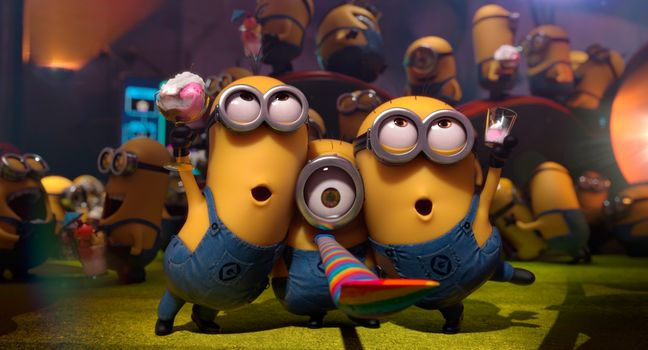 Photo free Despicable me 2, minions, animation