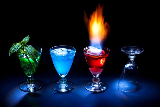 Photo free drinks, cocktail, ice