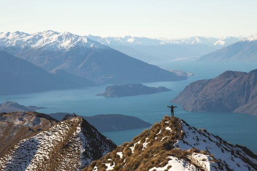 Photo free wilderness, mountains, snow